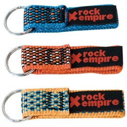 Rock Empire Key Rings Webbing